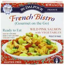 Wild Salmon w/ Vegetables, 6 of 6.2 OZ, St. Dalfour