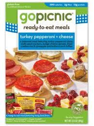 Turkey Pepperoni & Cheese, 6 of 3 OZ, Gopicnic