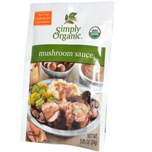 Sauce, Mushroom, 12 of 0.85 OZ, Simply Organic