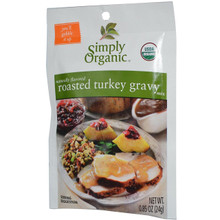 Gravy, Roasted Turkey, 12 of 0.85 OZ, Simply Organic