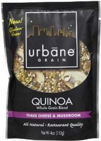 Three Cheese & Mushroom, 6 of 4 OZ, Urbane Grain