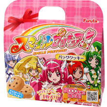 Furuta Smile Precure Cookie Bag 0.70 oz  From AFG