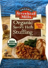 Stuffing Mix, Savory Herb, 12 of 10 OZ, Arrowhead Mills