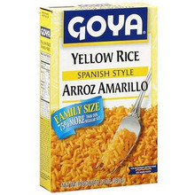 Yellow Rice, Instant, 24 of 6 OZ, Goya
