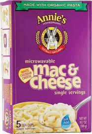 Mac & Cheese Microwavable, 6 of 10.7 OZ, Annie'S Homegrown