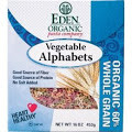 Vegetable Alphabets, 6 of 16 OZ, Eden Foods