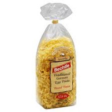 Egg Noodle Broad, 12 of 17.6 OZ, Bechtle