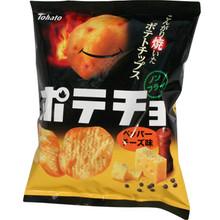 Tohato Pepper Cheese Potato Chips 2.22 oz  From Tohato