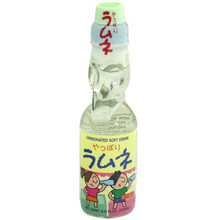 Hata Original Ramune Soda 6.6 oz  From Hata