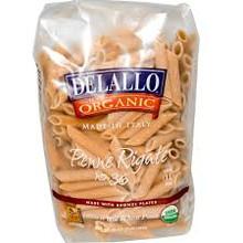 Penne Rigate #36, Whole Wheat, 16 of 16 OZ, De Lallo