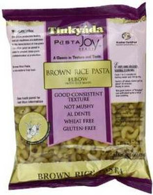 Brown Rice Elbows, 12 of 16 OZ, Tinkyada