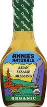 Asian Ses, 6 of 8 OZ, Annie'S Naturals