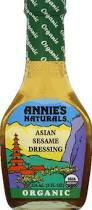 Asian Ses, 6 of 8 OZ, Annie'S Naturals