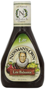 Balsamic Vinaigrette, Light, 6 of 16 OZ, Newman'S Own