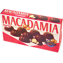 Meiji Chocolate Macadamia 2.60 oz  From Meiji