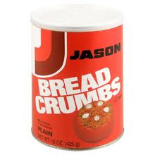 Bread Crumbs, Plain, 6 of 15 OZ, Jason