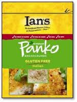 Panko, Italian, Gluten Free, 8 of 7 OZ, Ian'S Natural Foods
