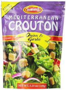Croutons, Onion/Garlic, 8 of 5.25 OZ, Osem