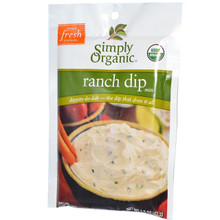 Ranch, 12 of 1.5 OZ, Simply Organic