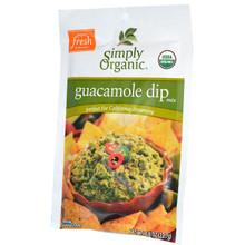 Guacamole, 12 of 0.8 OZ, Simply Organic