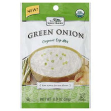 Dip Mix, Green Onion, 12 of 0.9 OZ, Spice Hunter
