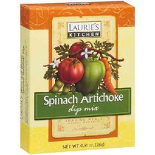 Spinach Artichokes, 12 of 0.91 OZ, Lauries Kitchen