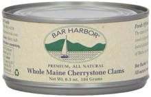 Maine Cherrystone Clams, 12 of 6.5 OZ, Bar Harbor