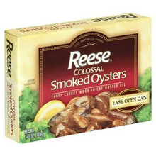 Colossal Smoke Oyster, 10 of 3.7 OZ, Reese