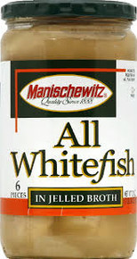All Whitefish, Jellied, 12 of 24 OZ, Manischewitz