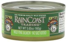 Pink, No Salt Added, 12 of 5.65 OZ, Raincoast Trading