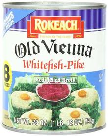 Whitefish & Pike, Old Vienna, Gluten Free, 12 of 28 OZ, Rokeach