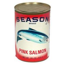 Salmon, Pink, Tall, 12 of 14.75 O, Seasons