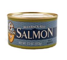 Salmon, Red, Blue Back, 12 of 7.5 OZ, Seasons
