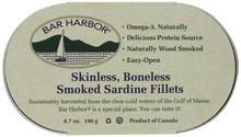 Sardine Fillets, Boneless/Skinless, 12 of 6.7 OZ, Bar Harbor
