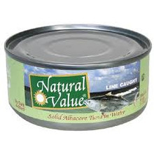 Albacore, No Salt, 24 of 5 OZ, Natural Value