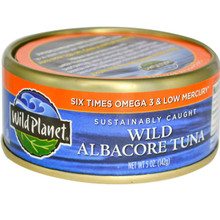Wild Albacore Tuna, Low Mercury, 12 of 5 OZ, Wild Planet