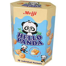 Giant Hello Panda Milk Cream 9.1 oz  From Meiji