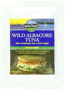 Wild Albacore Tuna, No Salt, 12 of 3 OZ, Wild Planet