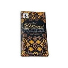 Dark w/Ginger & Orange, 10 of 3.5 OZ, Divine Chocolate