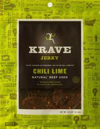 Beef, Chili Lime, 8 of 3.25 OZ, Krave