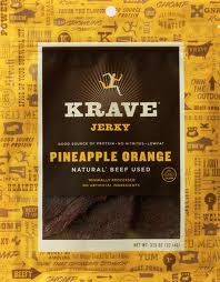 Beef, Pineapple Orange, 8 of 3.25 OZ, Krave