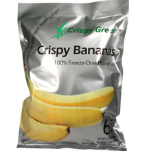 Crispy Green Bananas 3.20 oz  From AFG
