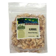 Almonds, Thick Slice, 8 of 7.5 OZ, Woodstock