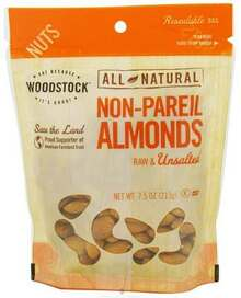 Almonds, Non Pariel Supreme, 8 of 7.5 OZ, Woodstock