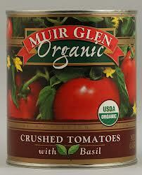 Crushed w/Basil, 12 of 28 OZ, Muir Glen