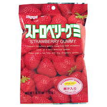 Kasugai Strawberry Gummy 3.77 oz  From Kasugai