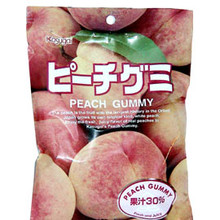 Kasugai Peach Gummy 3.77 oz  From Kasugai
