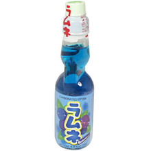 Hata Ramune Soda Blueberry 6.6 oz  From Hata