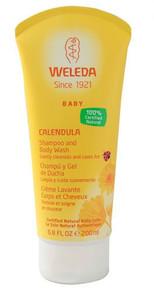 Calendula Shampoo and Body Wash, 6.8 OZ, Weleda Products
