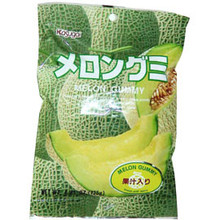 Kasugai Melon Gummy 3.59 oz  From Kasugai